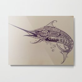 Fish of Skill Metal Print