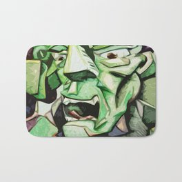 Hulk Abstract Bath Mat