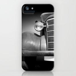 US American classic car Master 1938 iPhone Case