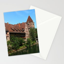 At The Pregnitz - Nuremberg Stationery Cards