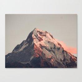 Annapurna peak Canvas Print