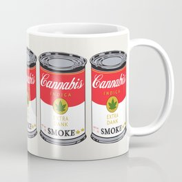Campbell's Soup (Cannabis Indica) Coffee Mug