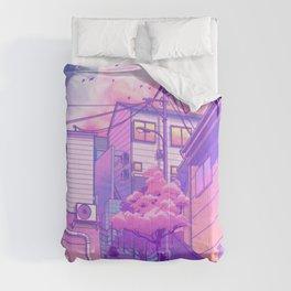 City Pop Tokyo Comforters