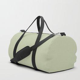 Pratt and Lambert 2019 Mellon Green (Sage Green) 18-28 Solid Color Duffle Bag