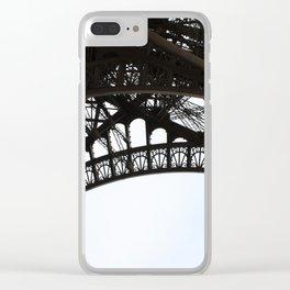 Framework of Eiffel Tower Clear iPhone Case