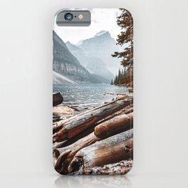 Moraine Lake at banff iPhone Case