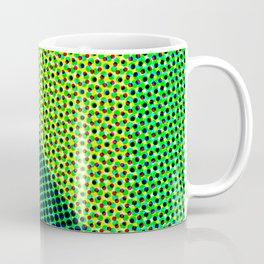 Green abstract dots Coffee Mug