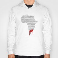 south africa Hoodies featuring South Africa Bleeds by Design511
