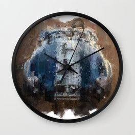 Shelby Cobra Front Wall Clock
