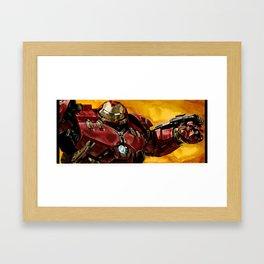 HulkBuster Framed Art Print