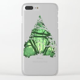 Legend of Zelda - Triforce Clear iPhone Case