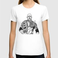 allyson johnson T-shirts featuring Dwayne 'The Rock' Johnson by Hollie B