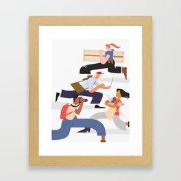 Busy Creatives Framed Art Print