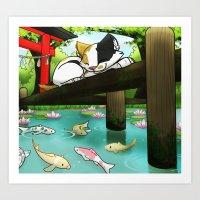 Zen Dreams Art Print