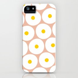 OVER EASY iPhone Case