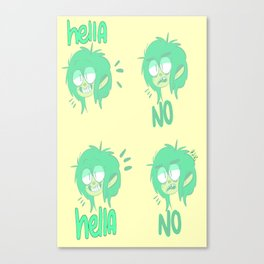 hella rad Canvas Print