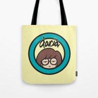 daria Tote Bags featuring Daria Symbol by Marianna