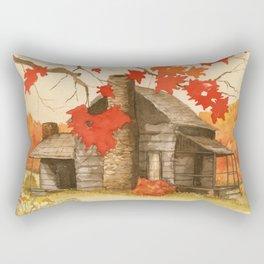 Smoky Mountain Cabin Rectangular Pillow