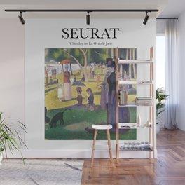 Seurat - A Sunday on la Grande Jatte Wall Mural
