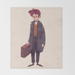 Newt Throw Blanket