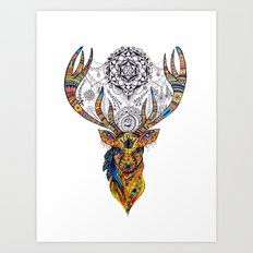 Elk: Spirit of Grace Art Print