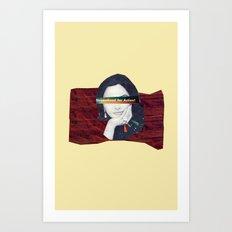 Streamlined for Action Art Print