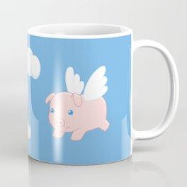 Flying Pig Coffee Mug