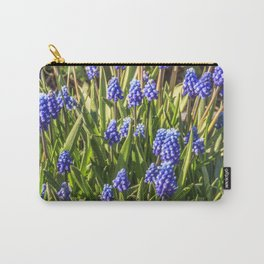 Grape hyacinths muscari Carry-All Pouch