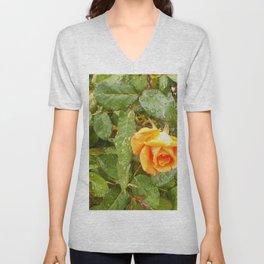 Floral Print 043 Unisex V-Neck