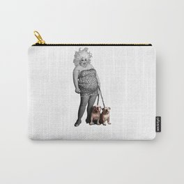 Divine and her dogs Carry-All Pouch