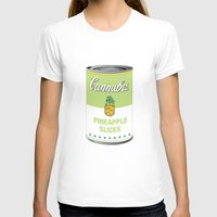 cannabis T-shirts featuring Cannabis - Pineapple Slices by Project Planet