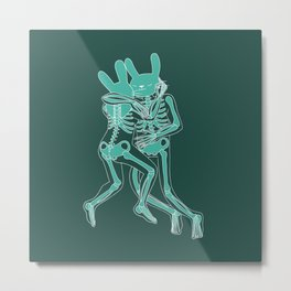 Lovely Bones Metal Print