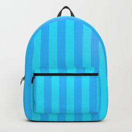 Blue Stripes Backpack