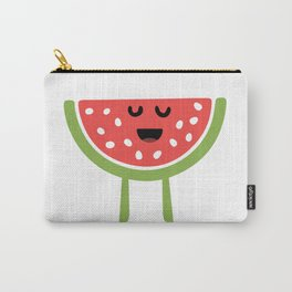 CHEERING HAPPY WATERMELON Carry-All Pouch