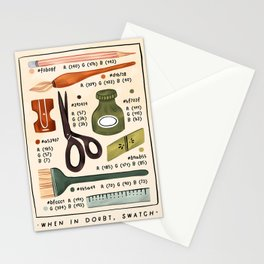 Swatch! Stationery Cards