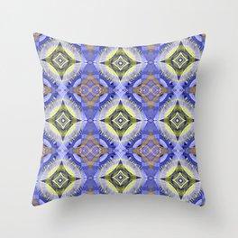 Star Modern Glow Print Throw Pillow
