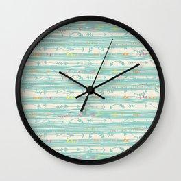 Lazy Days Wall Clock