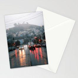 San Fransisco Rain Stationery Cards