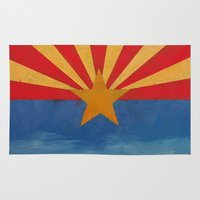 arizona Area & Throw Rugs featuring Arizona by Michael Creese