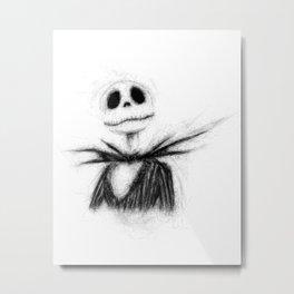 Jack, The Nightmare Before Christmas Metal Print