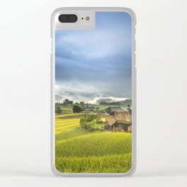 Vietnam Rice Cultivation Clear iPhone Case