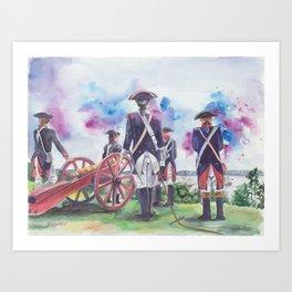 Artillery Company Art Print