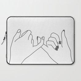 Pinky Promise 3 Laptop Sleeve