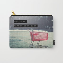 Grocery Cart Rage  Carry-All Pouch