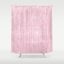 Elegant geometric girly blush pink glitter watercolor Shower Curtain