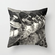 Retro Candy jars. Throw Pillow