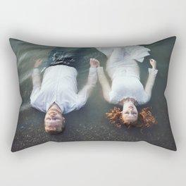 Dreaming together Rectangular Pillow