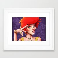 swag Framed Art Prints featuring Swag by _JECR_