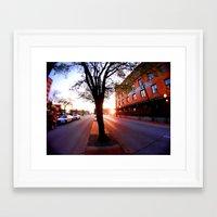 dallas Framed Art Prints featuring Dallas by LMFK
