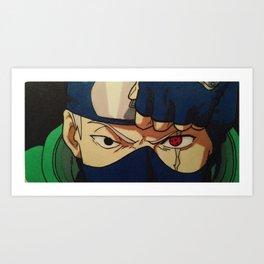 The Copy Ninja (Kakashi Hatake) Art Print